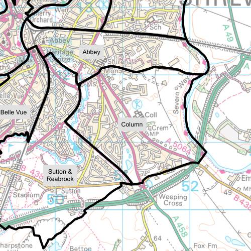 Column Ward Map